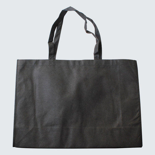 Shopping bag with hand handles