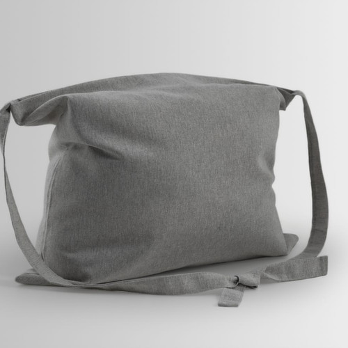 Cotton bag with knotted handle